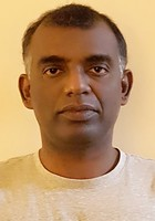 A photo of Krishnakumar, a tutor from Eastern University