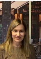 A photo of Cecilia, a tutor from Sacre-Cur de Jette Belgium