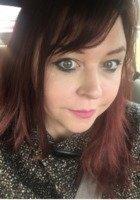 A photo of Karen, a tutor from Slippery Rock University of Pennsylvania