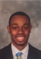 A photo of Kamren, a tutor from Meharry Medical College