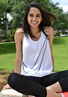 A photo of Saina, a tutor from Nova Southeastern University