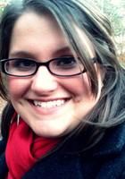 A photo of Sarah, a tutor from Kennesaw State University