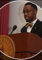 A photo of Joseph, a tutor from Tuskegee University