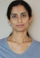 A photo of Sowmya, a tutor from Jntu college of Engineering India