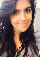 A photo of Pareesa, a tutor from University of California-Davis