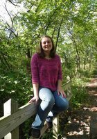 A photo of Jordan, a tutor from Grinnell College