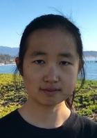 A photo of Xinping, a tutor from University of California-Santa Barbara