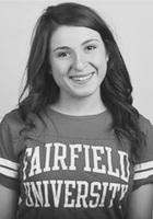 A photo of Haley, a tutor from Fairfield University