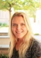 A photo of April, a tutor from Arizona State University