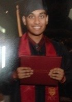 A photo of Roshan, a Graduate Test Prep tutor in Huntington Beach, CA