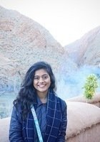 A photo of Neha, a tutor from Cornell University