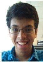 A photo of Pandurang, a tutor from Johns Hopkins University
