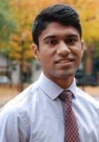 A photo of Zain, a tutor from Swarthmore College