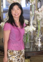 A photo of Natsuko, a Japanese tutor in Orange County, CA
