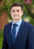A photo of Adnan, a tutor from The Texas AM University System Office