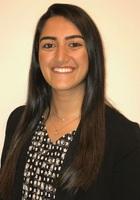 A photo of Zaina, a tutor from Emory University