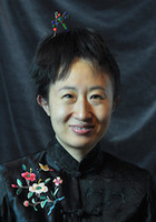 A photo of Haiyun, a tutor from Beijing Foreign Studies