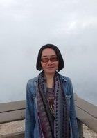 A photo of Jingxuan, a tutor from Sun Yat-sen University