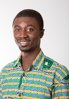 A photo of Solomon, a tutor from University for development studies