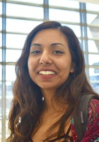 A photo of Sandhya, a tutor from Middlebury College