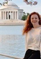 A photo of Abigail, a tutor from Catholic University of America