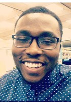A photo of Steven-John, a tutor from Bowie State University
