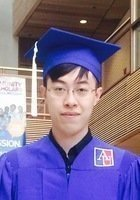 A photo of Jinming, a tutor from American University