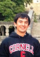 A photo of Shan, a tutor from Cornell University