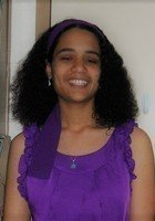 A photo of Juanita, a tutor from Eastern Nazarene College