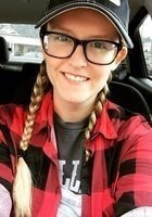 A photo of Paige, a tutor from Carson-Newman College