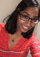A photo of Ahila, a tutor from The University of Texas at Austin