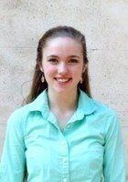 A photo of Sarah Kate, a tutor from College of Charleston