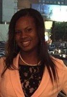 A photo of Berretta, a tutor from Alabama State University