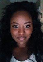 A photo of Sharhonda, a tutor from Bethune-Cookman University