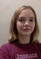 A photo of Josephine, a tutor from Roanoke College