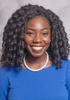 A photo of Monioluwa, a tutor from Baylor College of Medicine