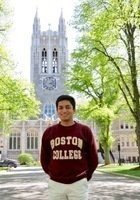 A photo of John, a tutor from Boston College